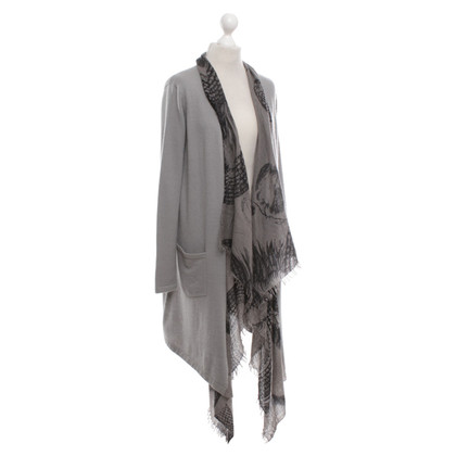 Friendly Hunting Cashmere cardigan in grey