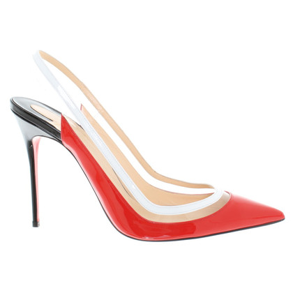 Christian Louboutin in pelle verniciata pumps