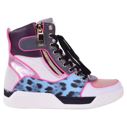 Dolce & Gabbana High-Top-Sneakers in Weiß
