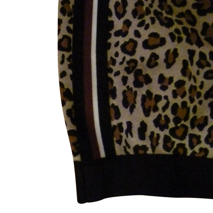 Pinko skirt with leopard pattern