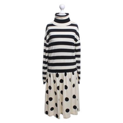 Moschino Gebreide jurk met patroon