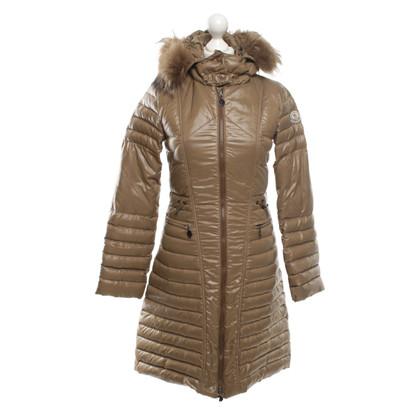 Moncler Down coat in beige