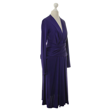 Issa Langärmliges Kleid in Lila