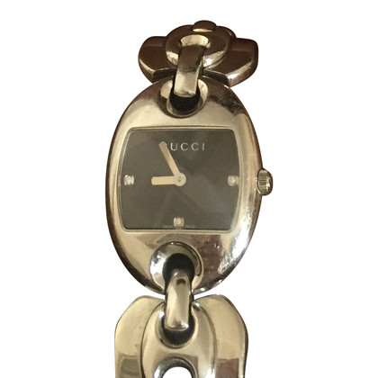 Gucci Watch bracelet with diamonds