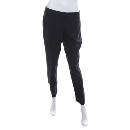 Theory Capri pants in navy blue