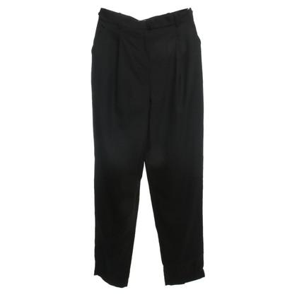 Chanel Zwarte wol broek