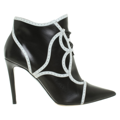 Tabitha Simmons Ankle boots in bi-color
