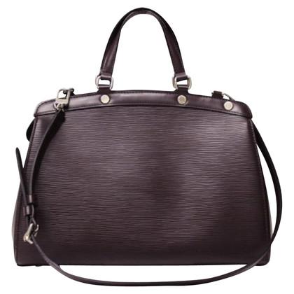 "Louis Vuitton ""Brea EPI leather"" in pruim"