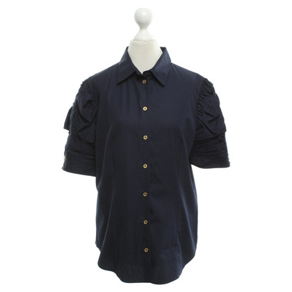 Yves Saint Laurent Camicia in blu scuro