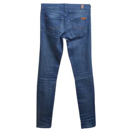 7 For All Mankind Skinny jeans in blue