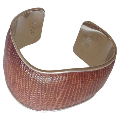 Tod's Bangle with snakeskin