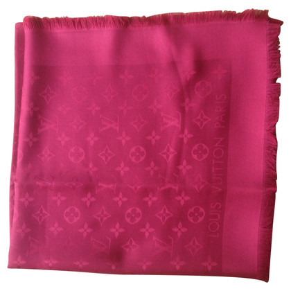 Louis Vuitton Monogram cloth in red