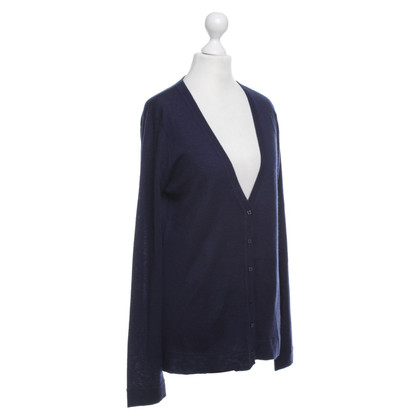 Dear Cashmere Cardigan in Blue