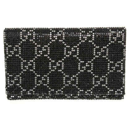 Gucci clutch met strass