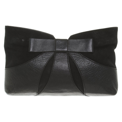 Kaviar Gauche clutch made of leather