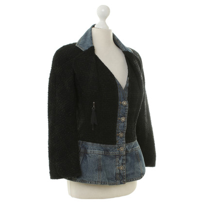 Christian Dior Blazer met denim trim