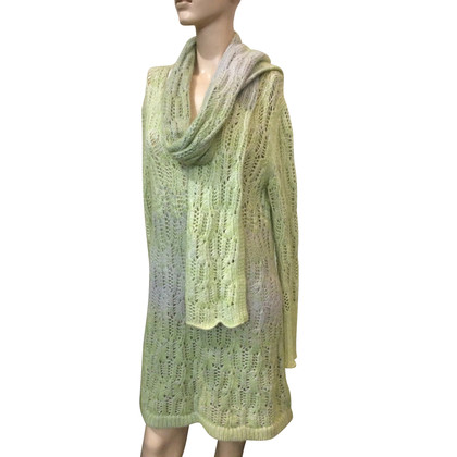Missoni Knitted dress with scarf