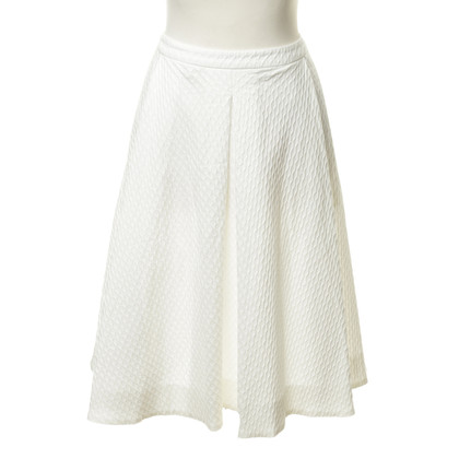 Max Mara Martellata gonna in bianco