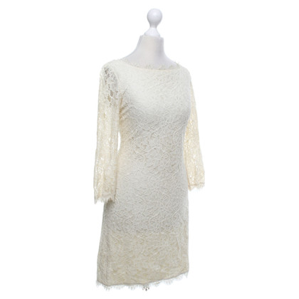 Diane von Furstenberg Dress '' Zarita '' in Cream