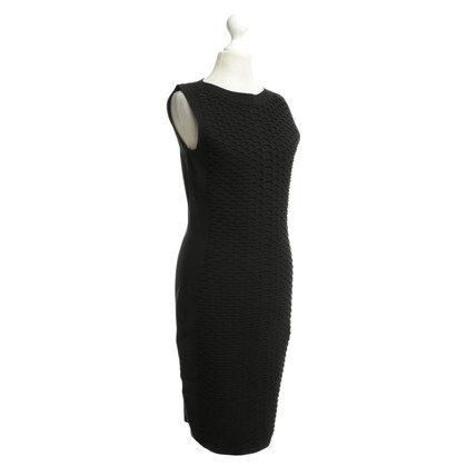 Karen Millen Schede jurk in zwart