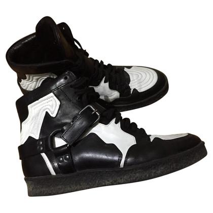 Diesel Black Gold High Top Sneakers