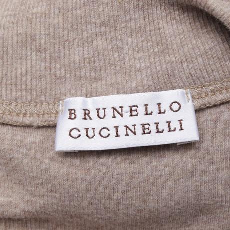 in Cucinelli Top Brunello Top Beige Cucinelli Brunello in Beige Brunello Cucinelli Beige Beige Top zwqapPz