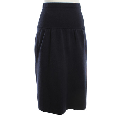 Joseph Wool skirt in dark blue