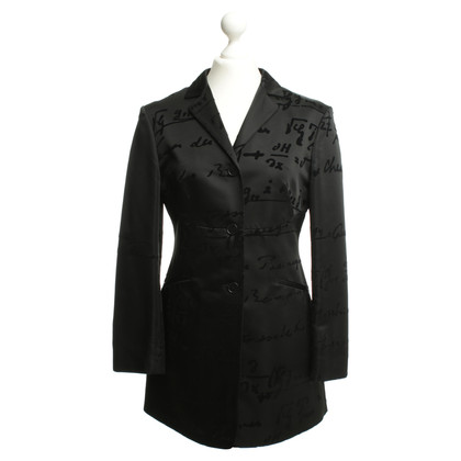 Moschino Cheap and Chic Longblazer in Schwarz
