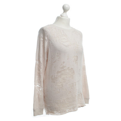 Iro Sweater with transparent elements