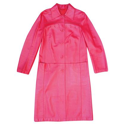 Alberta Ferretti Red leather jacket