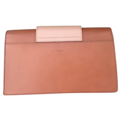 Max Mara clutch leather