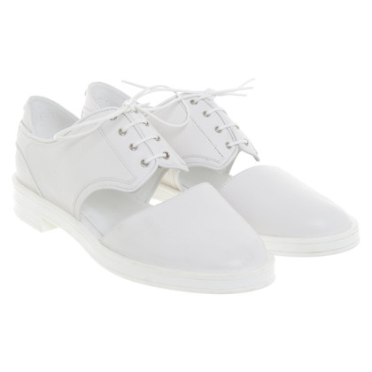 Armani Lace-up shoes in white