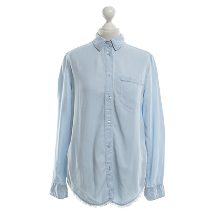 Acne Blouse in light blue