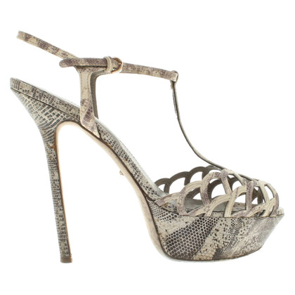 Sergio Rossi Sandals in animal design