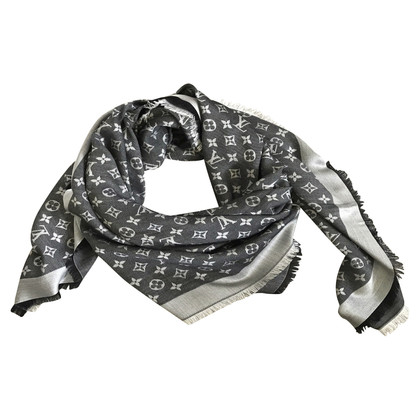 Louis Vuitton Monogram doek in zwart