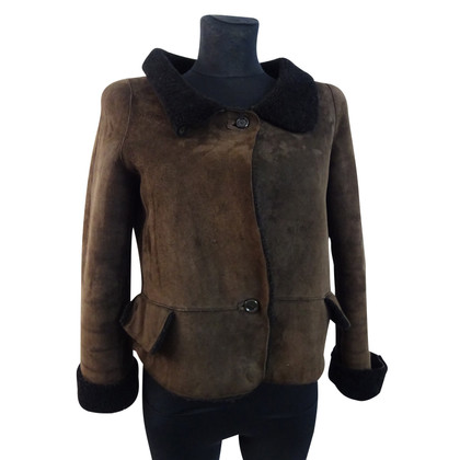 Marni Short sheepskin jacket