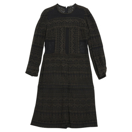 Isabel Marant BLACK EMBROIDED FR38