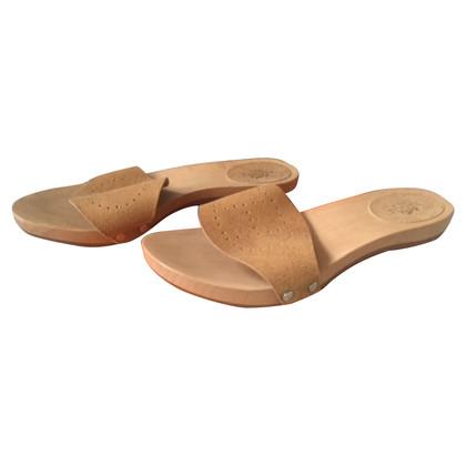 Hermès Muli con suole di legno