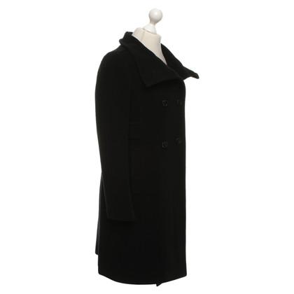 Cinque Cappotto in nero