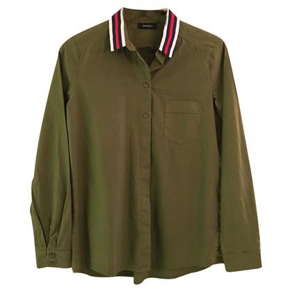 Max Mara Camicetta da camicia in verde