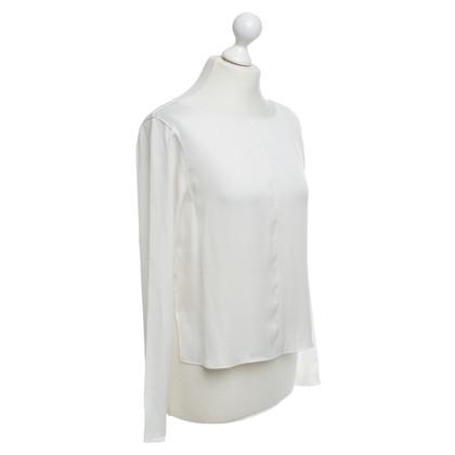 Alice + Olivia Silk blouse in white