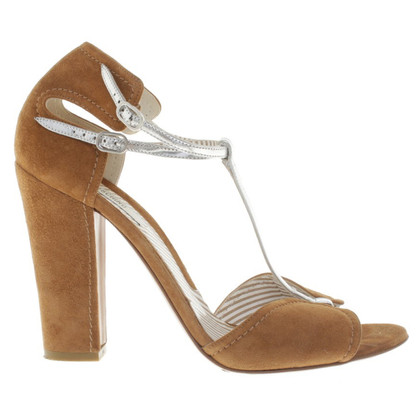 Moschino sandales Suede