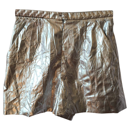 Chanel Shorts in Silber