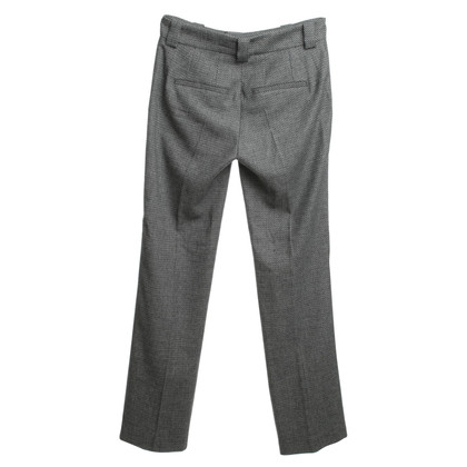 Drykorn trousers with black / white
