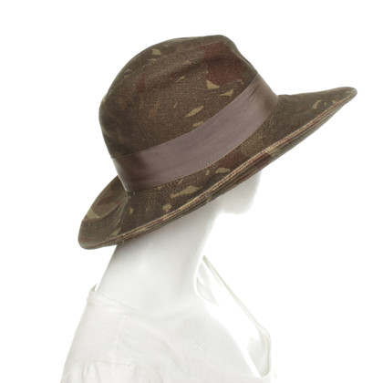Borsalino Hat with camouflage pattern