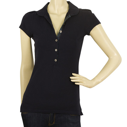 Burberry Top in marine blauw