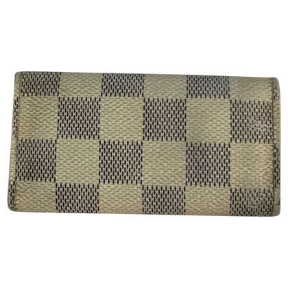Louis Vuitton Card case from Damier Azur Canvas