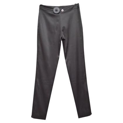 Chanel Seidenhose mit Taschen