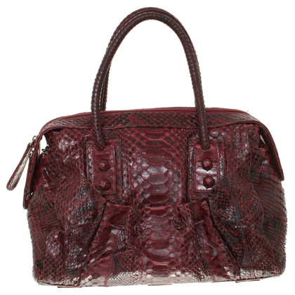 Zagliani Reptile leather handbag