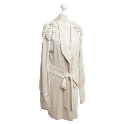 Temperley London Gebreide Cardigan in beige